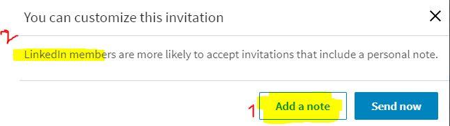 Sådan sender du en hilsen på LinkedIn