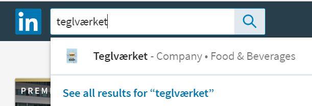 Sådan søger du virksomheder frem på LinkedIn