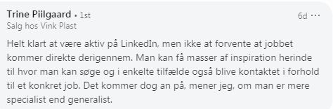 Tip til jobsøgning på LinkedIn